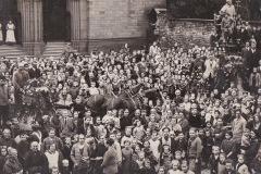 Ankunft der Glocken 1925