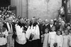 Ankunft der Glocken 1947